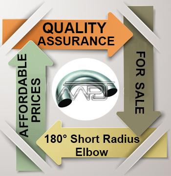 ANSI/ASME B16.9 180° Short Radius Elbow Exporter in India