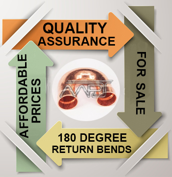 ANSI/ASME B16.9 180 Degree Return Bends Exporter in India