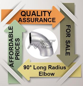 ANSI/ASME B16.9 90° Long Radius Elbow Exporter in India