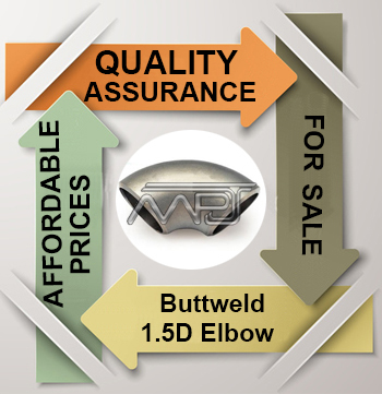 ANSI/ASME B16.9 1.5D Elbow Exporter in India