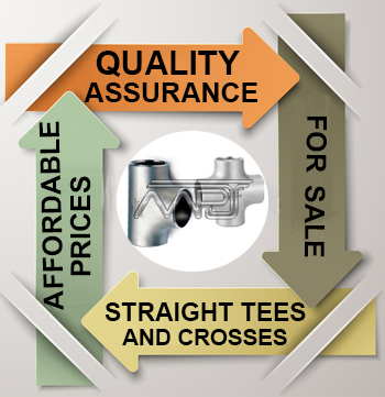 ANSI/ASME B16.9 Straight Tees and Crosses Exporter in India