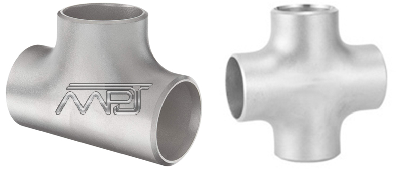ANSI/ASME B16.9 Straight Tees and Crosses Manufacturers in India