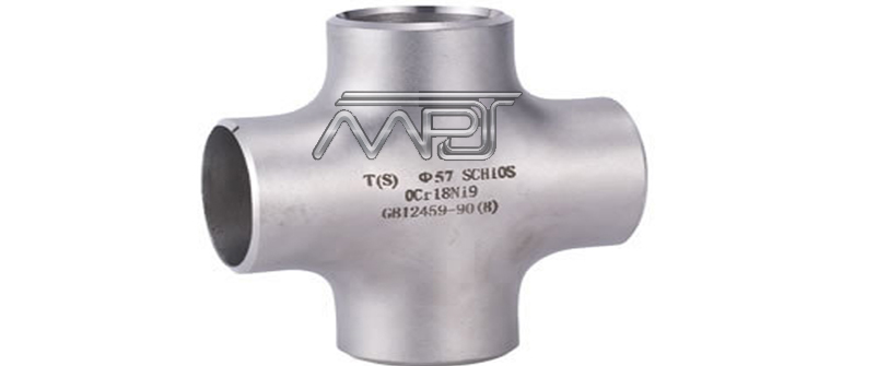 ANSI/ASME B16.9 Butt weld Equal Cross Manufacturers in India