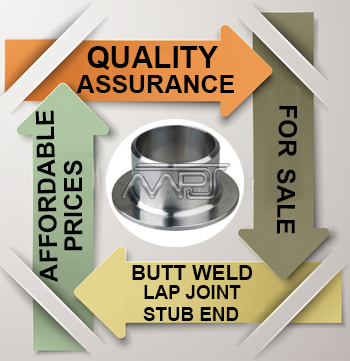 ANSI/ASME B16.9 Butt weld Lap Joint Stub End Exporter in India