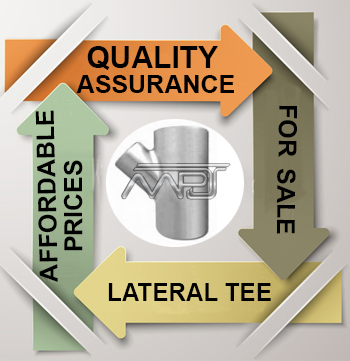 ANSI/ASME B16.9 Lateral Tee Exporter in India