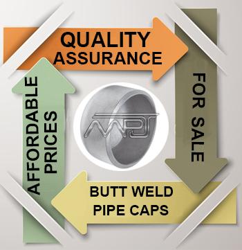 ANSI/ASME B16.9 Butt weld Pipe Cap Exporter in India