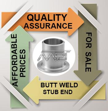 ANSI/ASME B16.9 Butt weld Stub End Exporter in India