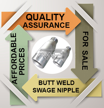 ANSI/ASME B16.9 Butt weld Swedge Nipple Exporter in India