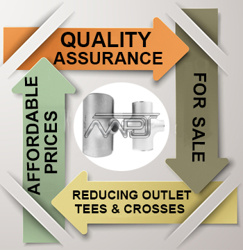 ASME B16.9 reducing outlet tees and reducing outlet crosses Exporter in India