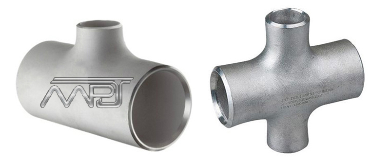 ASME B16.9 reducing outlet tees and reducing outlet crosses Manufacturers in India