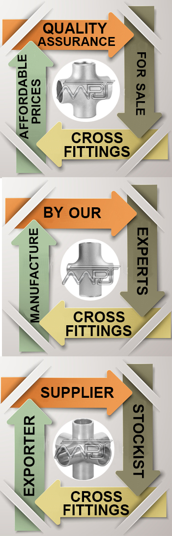 Equal Cross Pipe Fitting Exporter in India