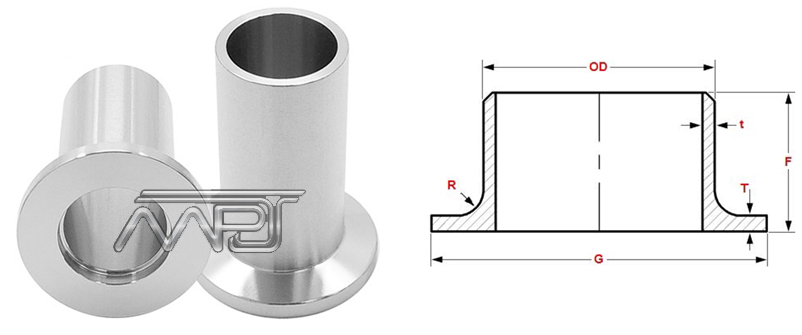 Lap Joint Stub End Fittings Manufacturers in India