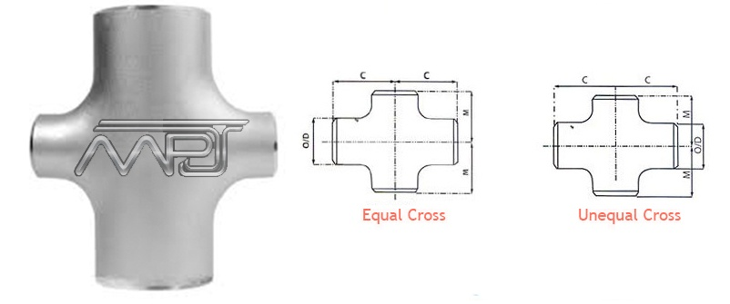 Reducing Cross Pipe Fitting Manufacturers in India