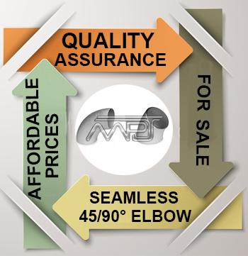 Seamless Buttwelding 45 deg and 90 deg Elbows Exporter in India
