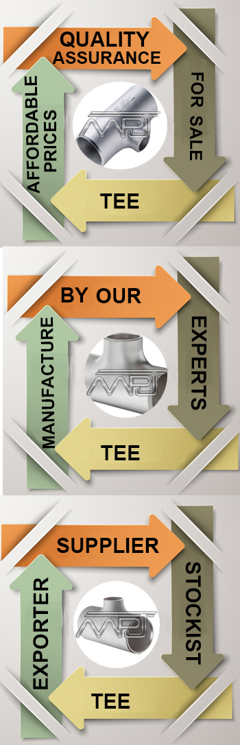 Unequal Tee Pipe Fitting Exporter in India