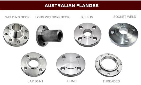 AS/NZS 4331.1 Australian Flange Dimensions