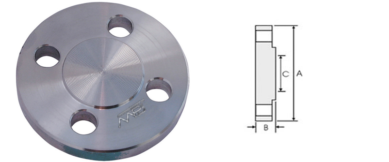 BS4504 Blind Flange Manufacturer in India