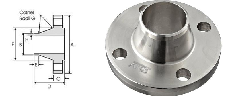 BS4504 Weld Neck Flange Manufacturer in India