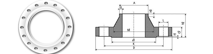 Flanges EN 1092-1 Type 11 Dimensions