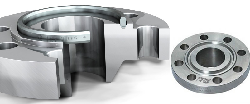 ANSI B16.5 / ASME B16.47 Ring Type Joint Flanges Manufacturers in India