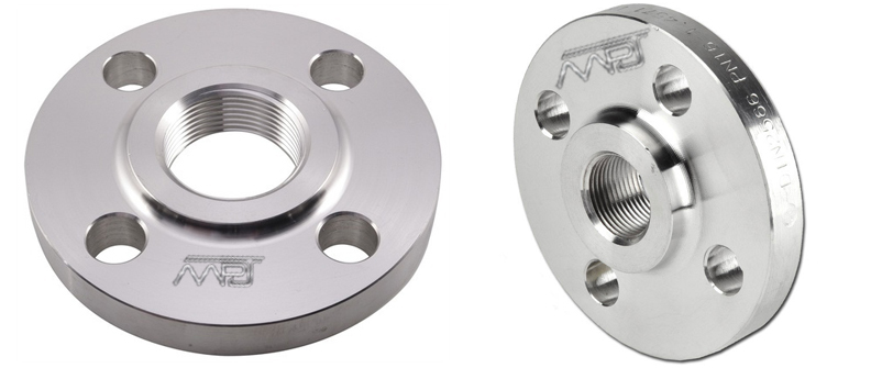 ANSI B16.5 / ASME B16.47 Threaded Flanges Manufacturers in India