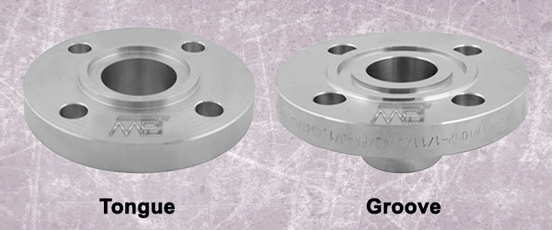 ANSI B16.5 / ASME B16.47 Tongue and Groove Flange Manufacturers in India