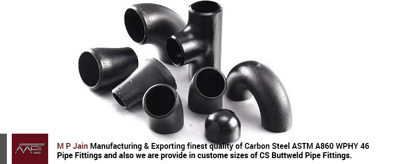 Carbon Steel ASTM A860 WPHY 46 Pipe Fittings
