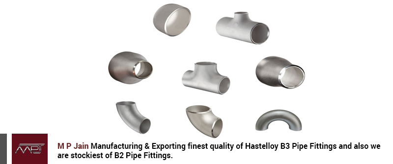 Hastelloy B3 Pipe Fittings