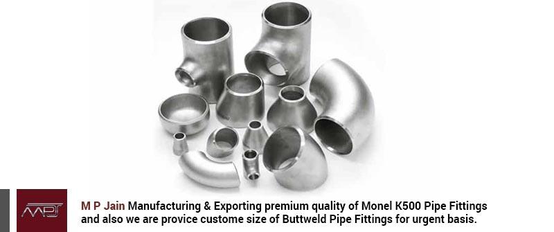 Monel K500 Pipe Fittings