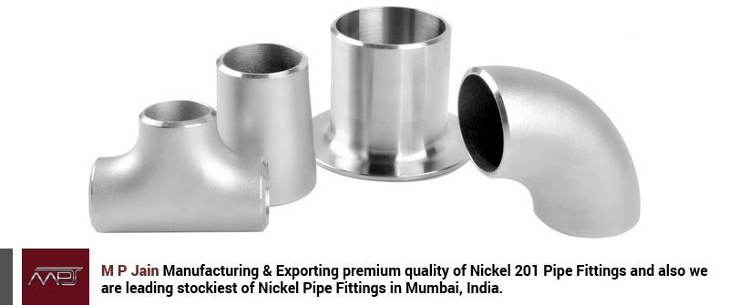 Nickel Alloy 201 Pipe Fittings
