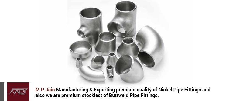 Nickel Alloy Pipe Fittings
