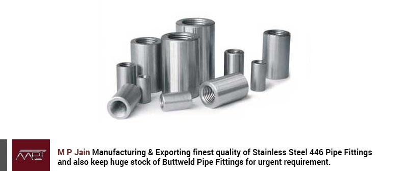 Stainless Steel 446 Pipe Fittings